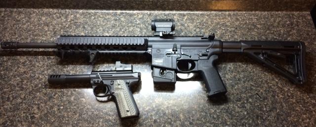 2 Gun Setup