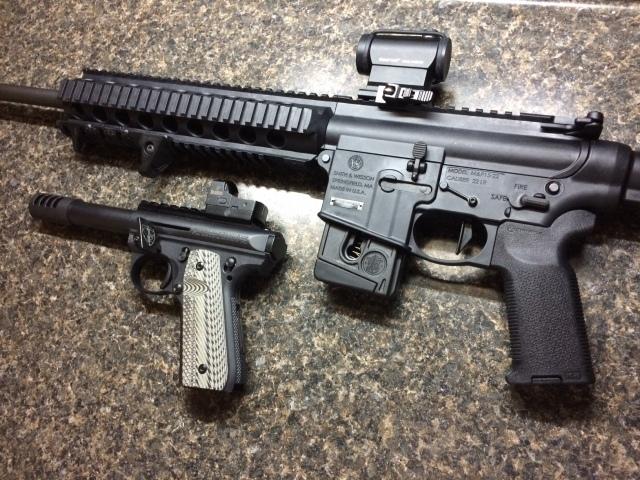Finished 2 Guns closeup