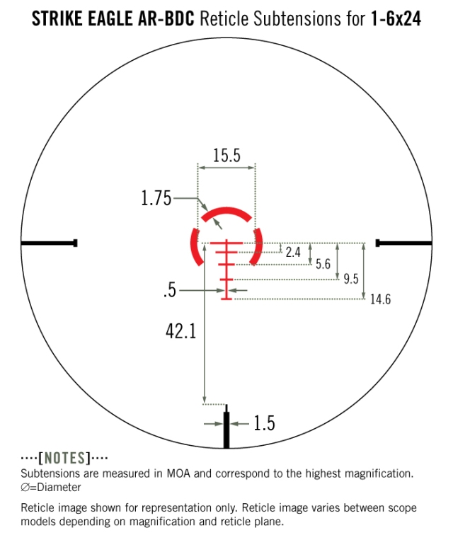 Vortex Strike Eagle reticle copy